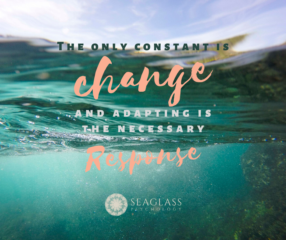 The only constant is change and adapting is the necessary response.