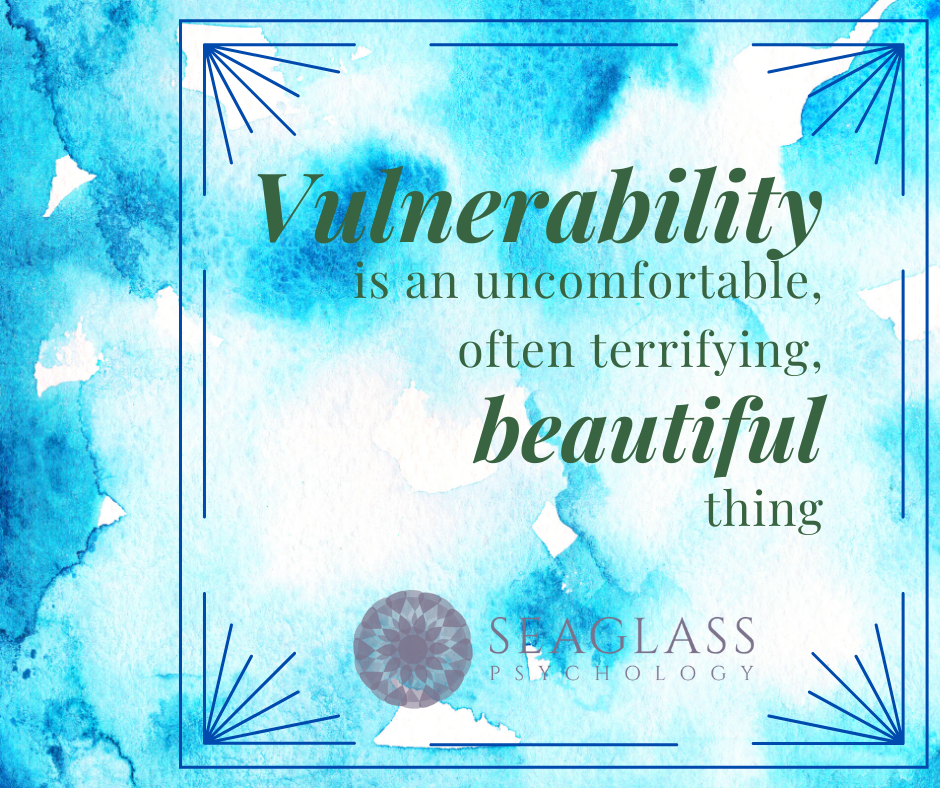 The importance of vulnerability. Vulnerability is an uncomfortable, often terrifying, beautiful thing.